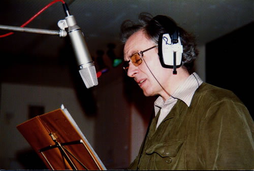 R. D. Laing in the studio